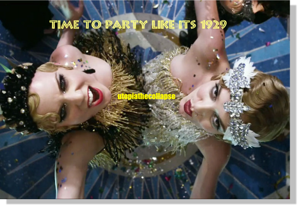 Gatsby Party 2  Utopia the Collapse Book by Alvin Conway