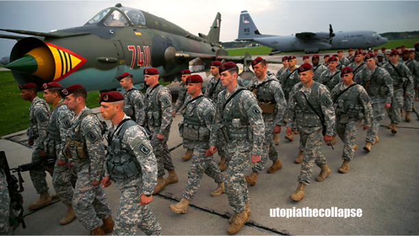 Russia warns of escalation of conflict after US paratroopers arrive in Ukraine