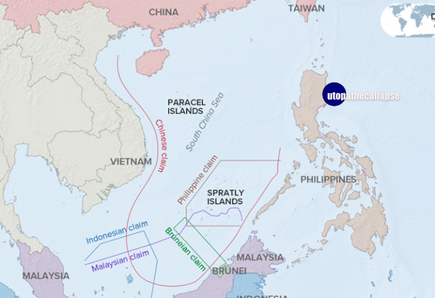 China Sea Map