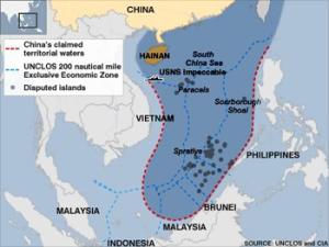 S China Sea Map