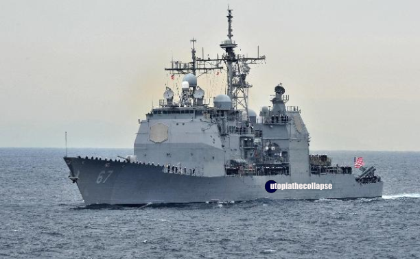 US Warship China Sea
