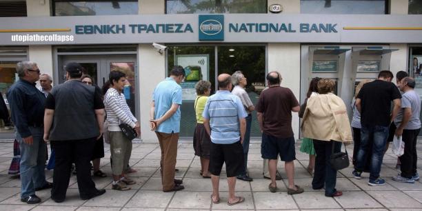 Greece Bank Run