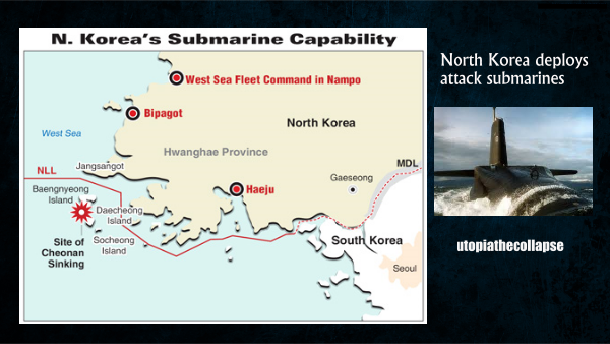 N Korea submarines