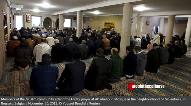 Belgium Mosque