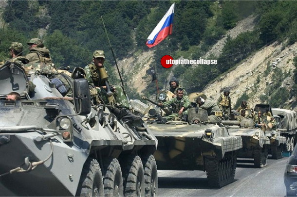 Russian Soldiers mobilized