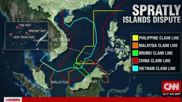 S China Sea