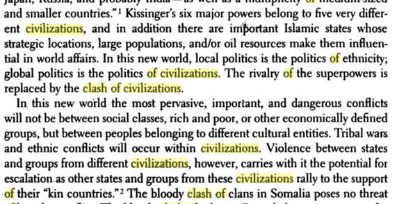 Civilizations Clash 1996 (2)