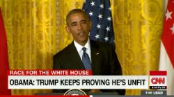 Obama Trump Unfit